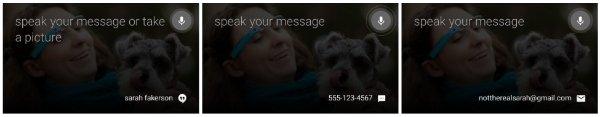 escribir mensaje google glass