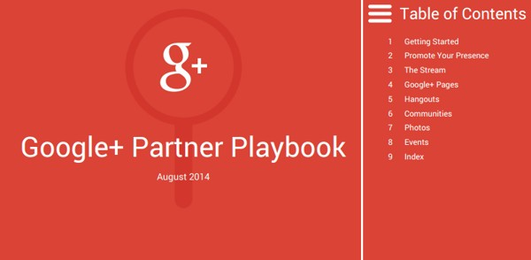 google+ partner playbook PDF