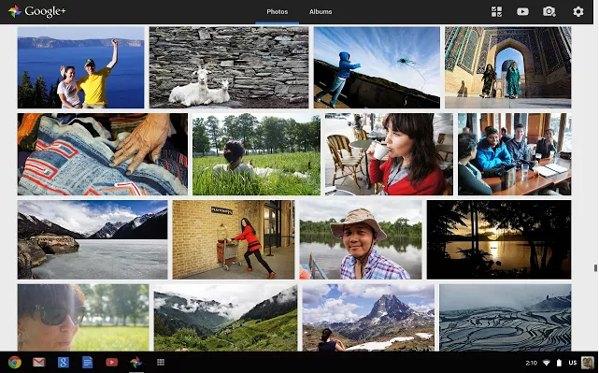 google+ photos app