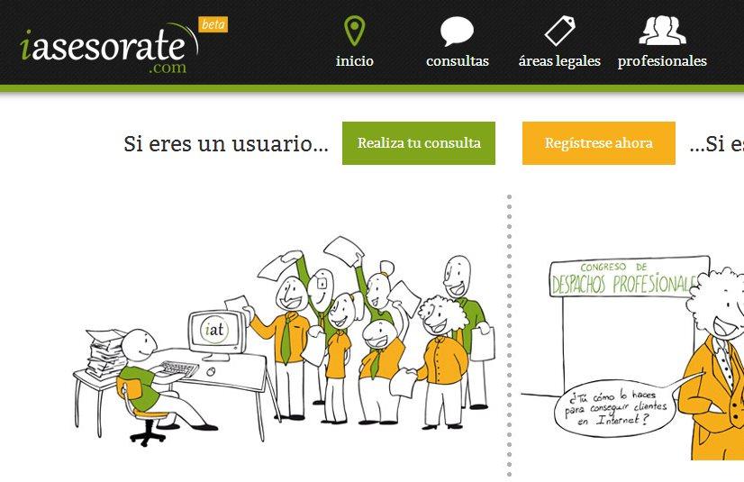 iasesorate, web para enviar consultas gratuitas a abogados