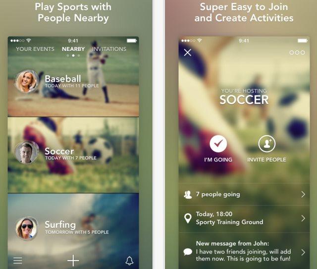 Sporty, nueva aplicación iOS para encontrar compañía para hacer deporte