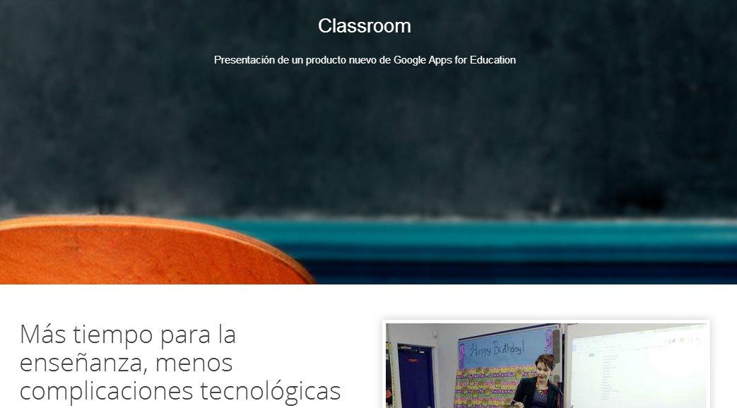 Ya está disponible Google Classroom para todos los profesores