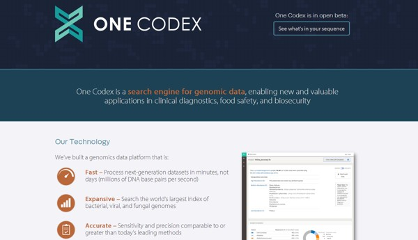 one codex informacion genetica virus