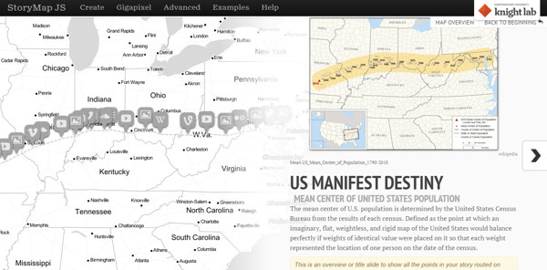 storymap, crear diapositivas mapas
