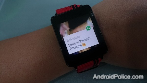 whatsapp android wear android police
