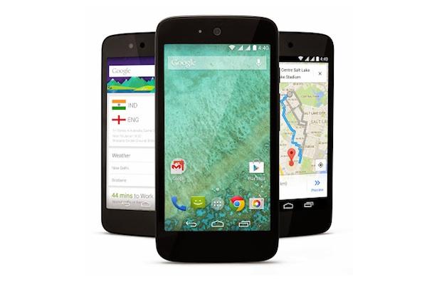 Google lanza sus primeros smartphones asequibles Android One en la India