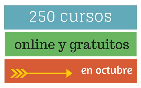 Cursos online y gratuitos para octubre