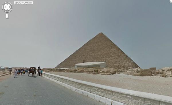 Ahora puedes visitar el Antiguo Egipto gracias a Google Street View