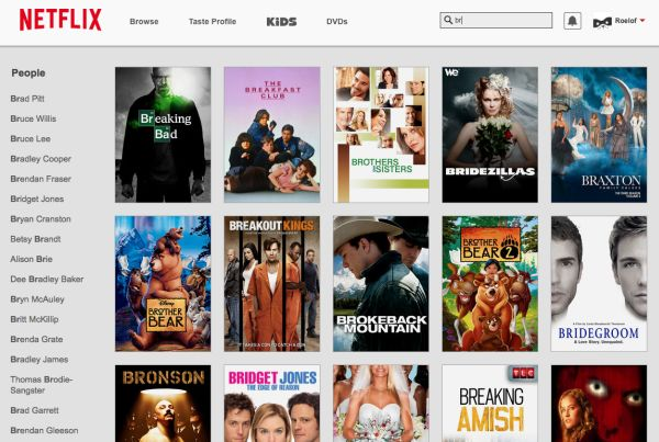 Netflix comienza a ofrecer una nueva experiencia de búsquedas en su sitio web