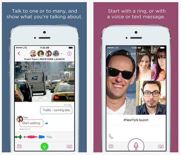 Talko, la nueva app de mensajería instantánea para iOS creada por un ex-ejecutivo de Microsoft