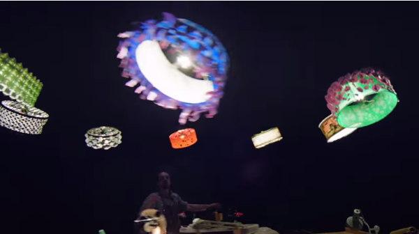 drones cirque du soleil