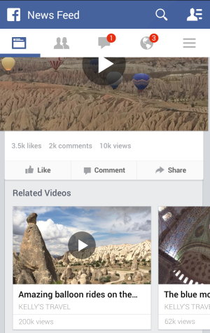 facebook videos reproducciones