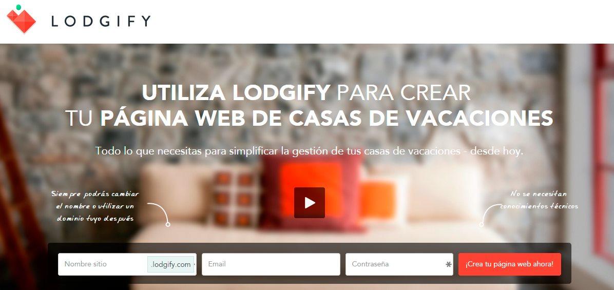 lodgify, para crear una web de reservas y alquilar tu casa en vacaciones