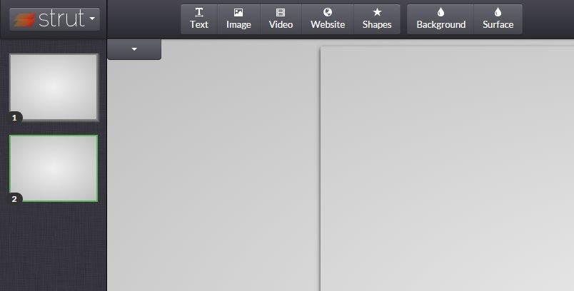 strut, una nueva forma de hacer presentaciones en la web