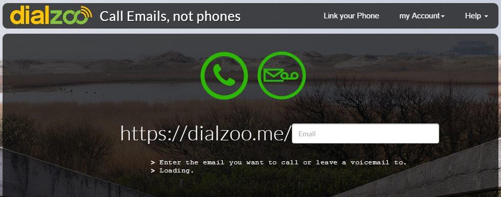 Dialzoo – Llamadas desde el navegador usando direcciones de email en lugar de números de teléfono