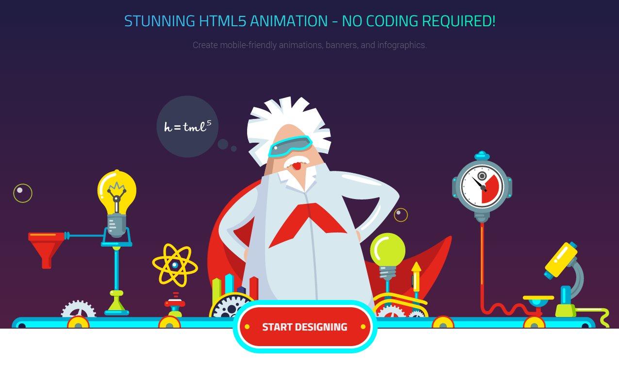 animatron, para crear animaciones en HTML5 sin saber programar
