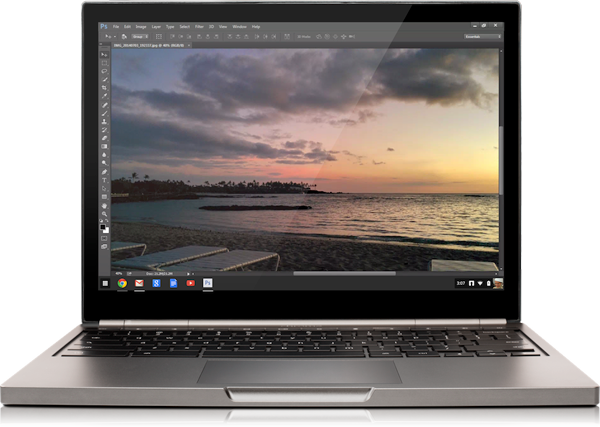 Photoshop para Chrome OS