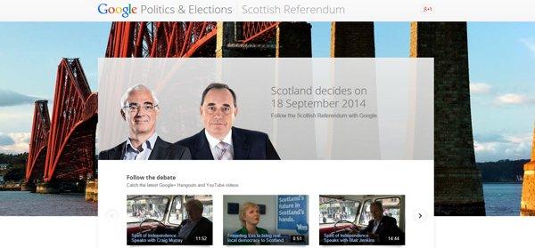 referendum escocia 2014 google