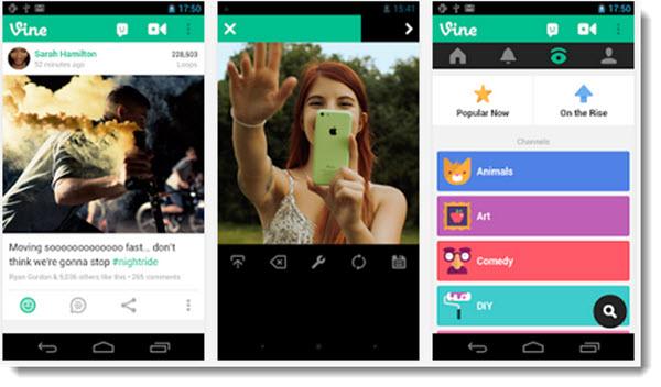 Vine para Android se actualiza permitiendo importar videos y editarlos
