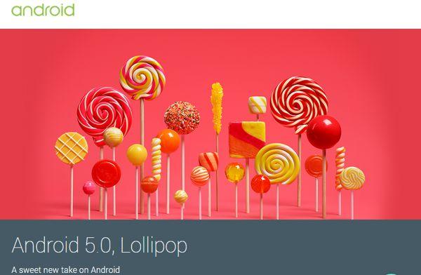 Todas las características y novedades de Android 5.0 Lollipop