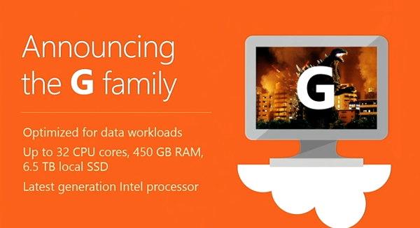 G Family Microsoft Azure