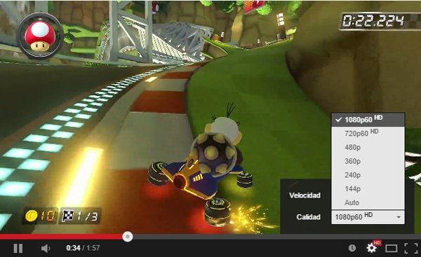 Mario Kart 8 60 fps