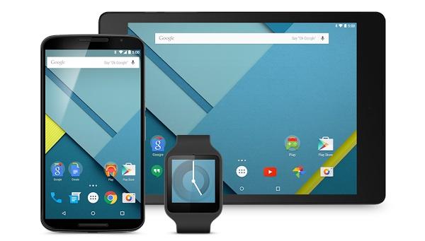 Google pone a disposición de los desarrolladores el SDK de Android Lollipop