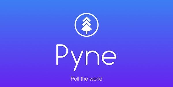 Pyne, una app para Android con la que crear encuestas públicas sobre cualquier tema