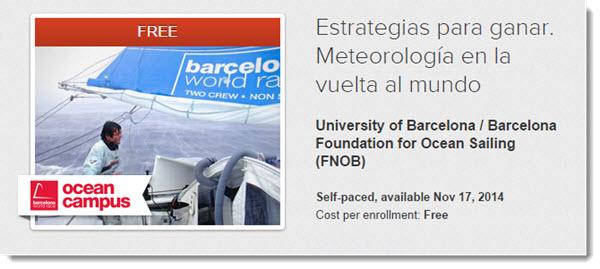 Barcelona World Race Ocean Campus