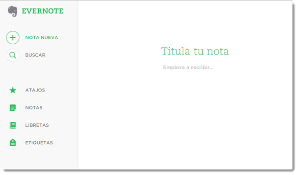 evernote web