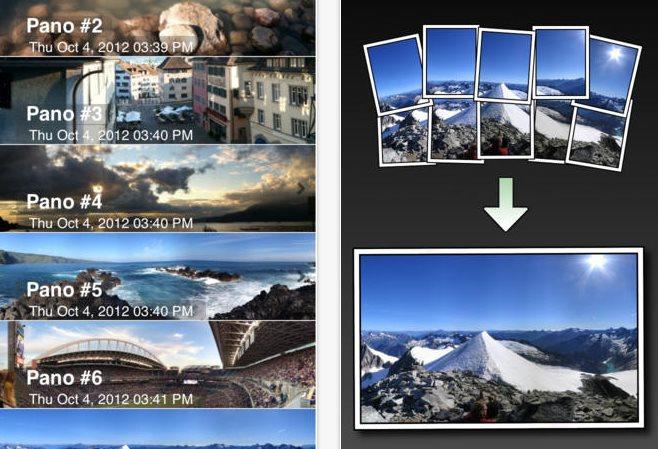 AutoStitch, para transformar varias fotos en una panorámica