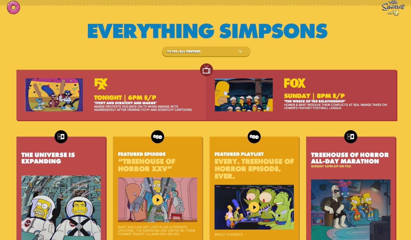 Simpsons World – Una web de la FOX con todos los episodios de los Simpsons