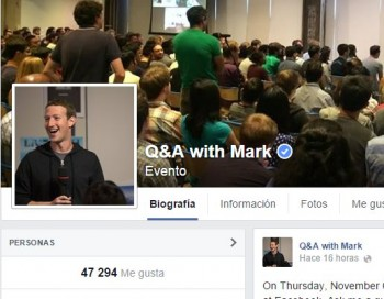 Podemos Participar De Una Sesion Online De Preguntas Y Respuestas Con El Fundador De Facebook