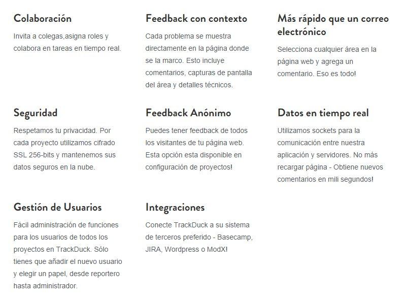 TrackDuck – Nueva versión de esta herramienta para diseñadores y programadores web