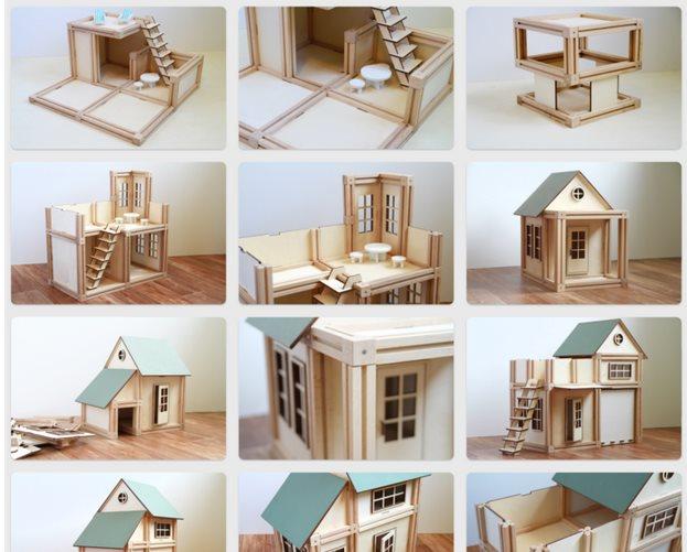 WoodyMac, el impresionante juego de construcción con madera, imanes… y una app móvil