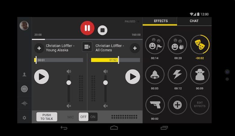 Spreaker Studio, un estudio de grabación de música gratuito para android