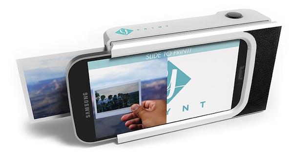 Prynt Case, una carcasa para smartphones con la que convertir tu móvil en una cámara Polaroid