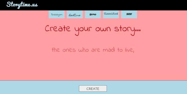 Story Time Us, crea y comparte tus historias de forma sencilla