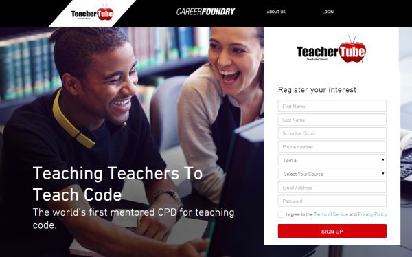 Teaching Teachers to Code