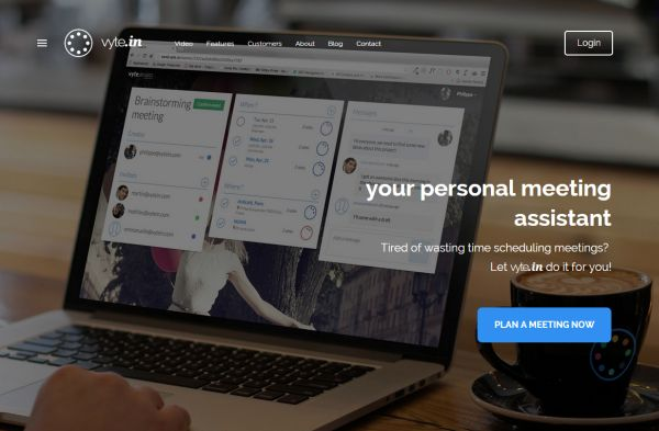 Vyte.in ayudará a escoger los mejores momentos para crear reuniones de trabajo