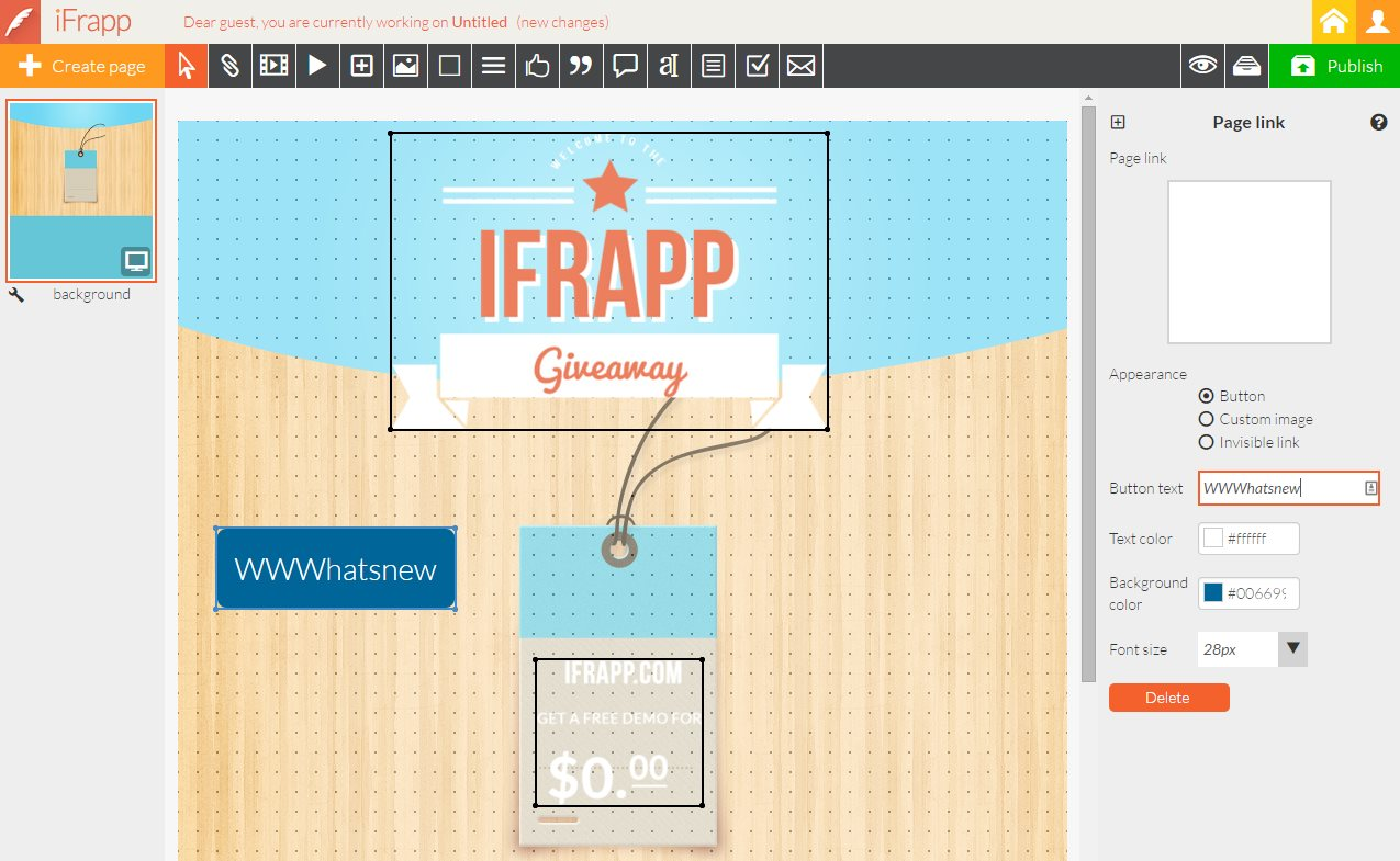 ifrapp, para crear aplicaciones en Facebook, páginas de presentación, campañas…