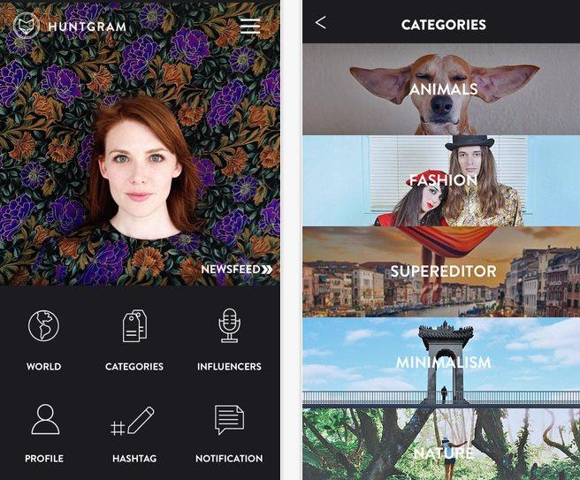 Huntgram, para encontrar el mejor contenido en Instagram [iOS]