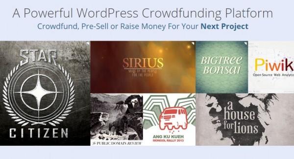 Temas para wordpress para crear un sitio de Crowdfunding