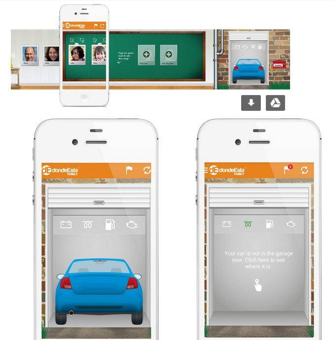 """La app """"dondeEsta Family"""" incluye ahora localizador de coche"""