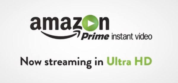 Amazon Prime Instant Video UHD