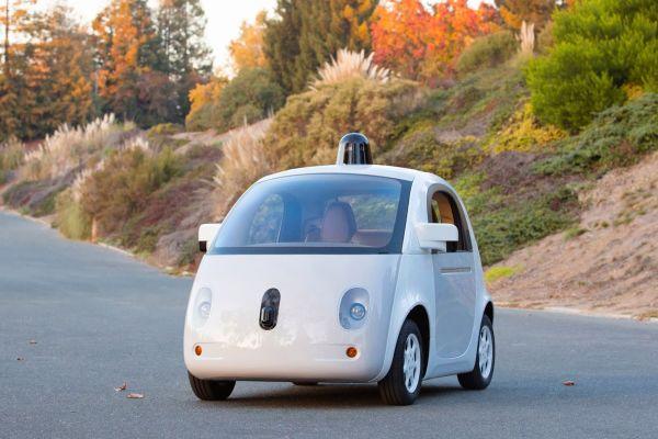 Prototipo de coche de auto-conducción
