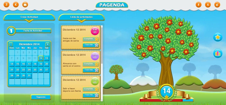 Pagenda, un juego para aumentar la interacción entre padres e hijos