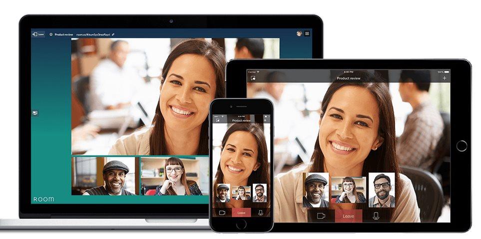 room.co, una sencilla forma de hacer videoconferencias con hasta 3 personas