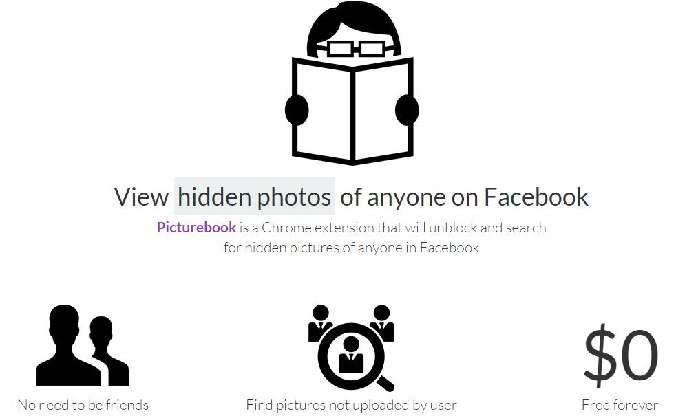 """PictureBook, extensión de Chrome que puede ver tus fotos """"ocultas"""" en Facebook ¿Cómo defenderse?"""