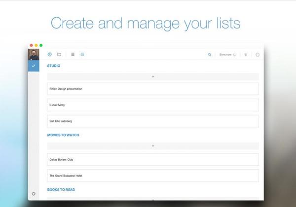 El gestor de tareas Any.do ya cuenta con versión nativa para Mac